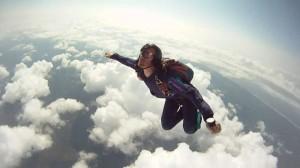 loop arrière mike davy parachutisme