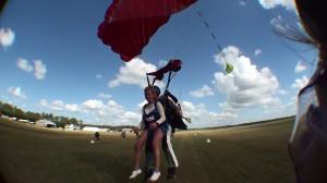saut en tandem davy parachutisme