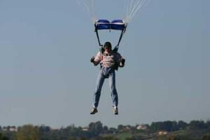 posé élève pac davy parachutisme