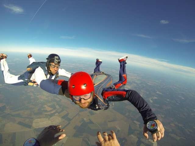 saut en parachute maroc